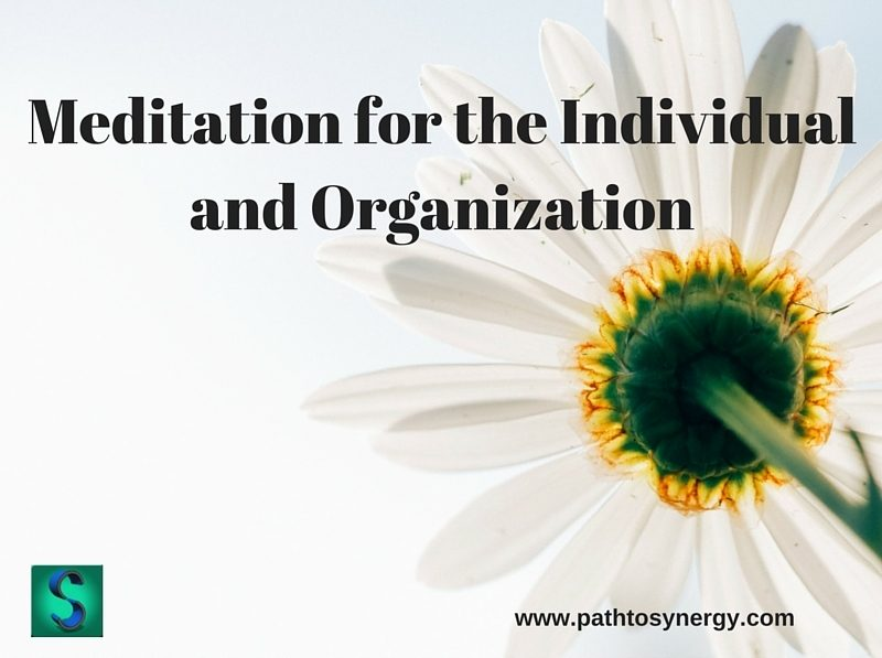 Meditation for the Individual and Organization