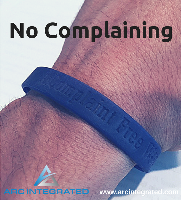 No Complaining - Arc Integrated
