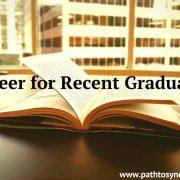 Career for Recent Graduates