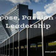 Purpose Passion and Leadership