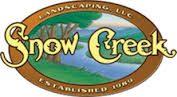Snow Creek Landscaping logo