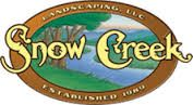 Snow Creek Landscaping logo