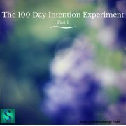 The 100 Day Intention Experiment