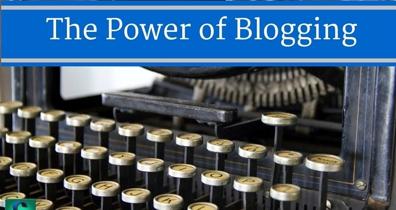 The Power of Blogging