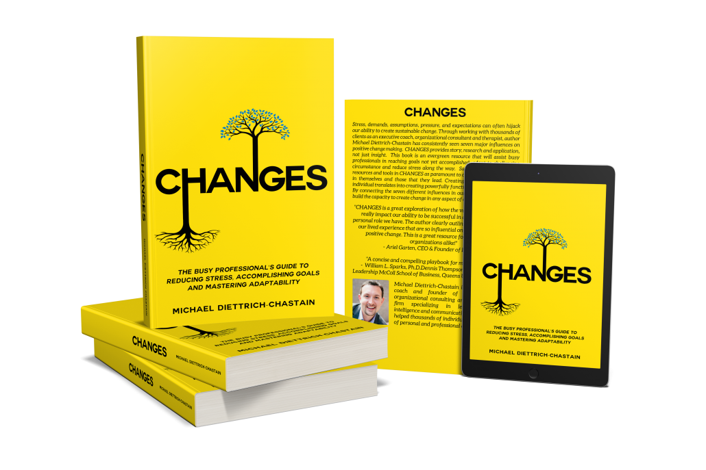 CHANGES - The Busy Professional's Guide to Reducing Stress, Accomplishing Goals and Mastering Adaptability
